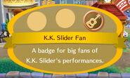 K.K. Slider Fan