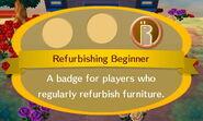Refurbishing Beginner
