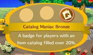Catalog Maniac Bronze