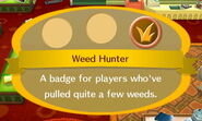 Weed Hunter