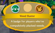Weed Buster