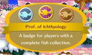 Prof. of Ichthylogy
