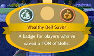 Wealthy Bell Saver