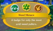 Weed Menace