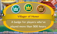 Villager of Honor