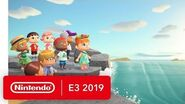 Animal Crossing- New Horizons - Nintendo Switch Trailer - Nintendo E3 2019