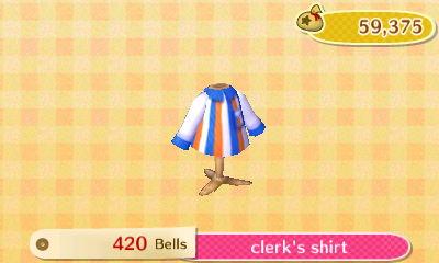 Clerk's Shirt