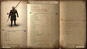 Stormlander Longbowman ACOK 6.2