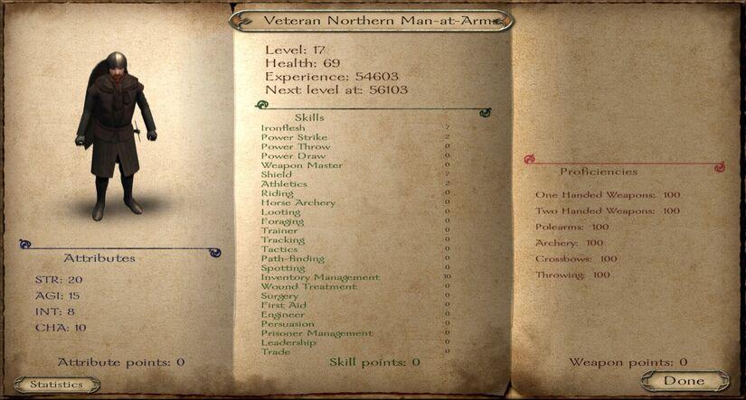 Veteran Northern Man-at-Arms ACOK 6.2