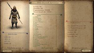 Elite Dornish Spearman ACOK 6.2