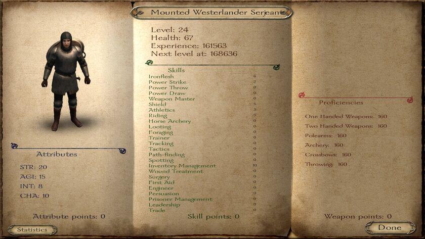 Westerlander Mounted Serjeant ACOK 6.2