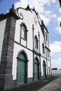 Igreja do Divino Espírito Santo, fachada, Feteira, concelho da Horta, ilha do Faial, Açores, Portugal