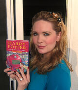 Sarah and Harry Potter