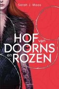 A Court of Thorns and Roses - Dutch Cover