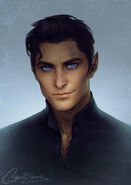 Rhysand by Charlie Bowater