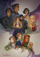 Wings & Ruin Montage by Charlie Bowater