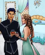 Feyre & Rhysand at Summer Court