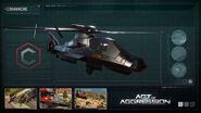 AoA Profile Comanche