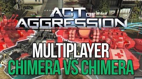 Act of Aggression Multiplayer Gameplay - Chimera Vs. Chimera - C&C GENERALS 2?!