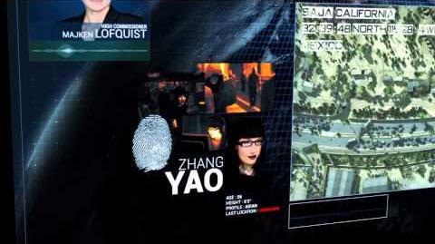 Act of Aggression Zhang Yao