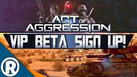 ACT OF AGGRESSION VIP BETA SIGN UP!