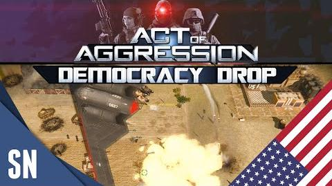 Act Of Aggression Gameplay - VIP BETA Democracy Drop