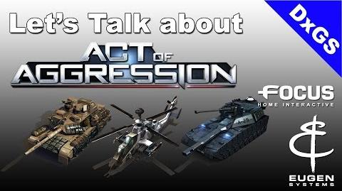 Let's talk about - Act of Aggression
