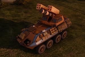 Blazer with the Stinger Block II upgrade