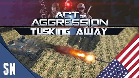 Act Of Aggression Gameplay - VIP BETA Tusking Away