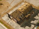 Heavy vehicle bay