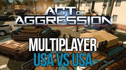 Act of Aggression Multiplayer Gameplay - US Army Vs. US Army - C&C GENERALS 2?!