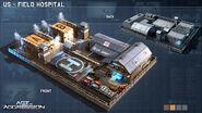 AoA Concept Field Hospital USA