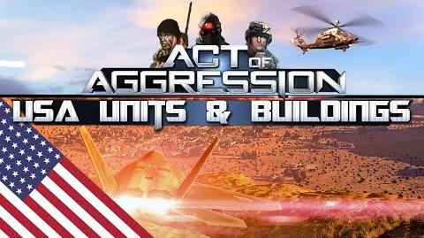 USA UNITS & BUILDINGS - Act Of Aggression