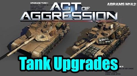 Act of Aggression TANKS- How They Look When Upgraded