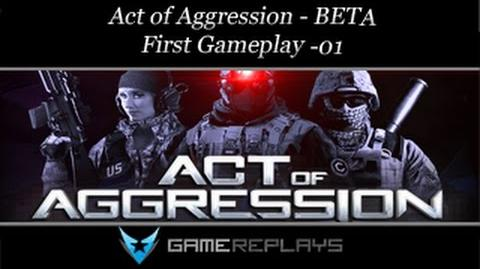 Act of Aggression BETA - First Gameplay 01