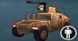 AoA Icon Humvee GAU-19