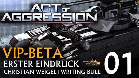 Erster Eindruck Act of Aggression VIP-Beta (01) deutsch
