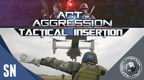 Act Of Aggression - Chimera Gameplay Tactical Insertion