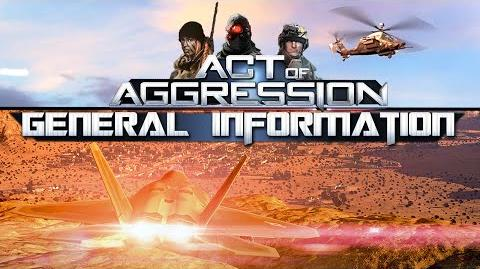 GENERAL INFORMATION - Act Of Aggression