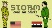 Storm over the Desert