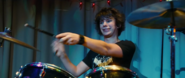 Rodrick Heffley happy at his brother