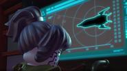 Pixal prepares to eject the ninja catamarans