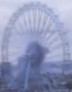 London's Ferris Wheel in Cars