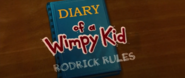 Diary of a Wimpy Kid Rodrick Rules journal