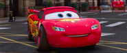 Lightning McQueen Smiling