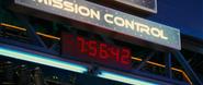 Rocket Rollers clock
