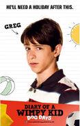 Greg Heffley Dog Days poster