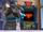 Blue Arcade Cabinet