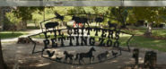 Lil' Critters Petting Zoo sign