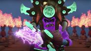 Mammatus with his lightning staff